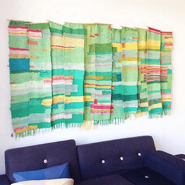 hand weaving interior