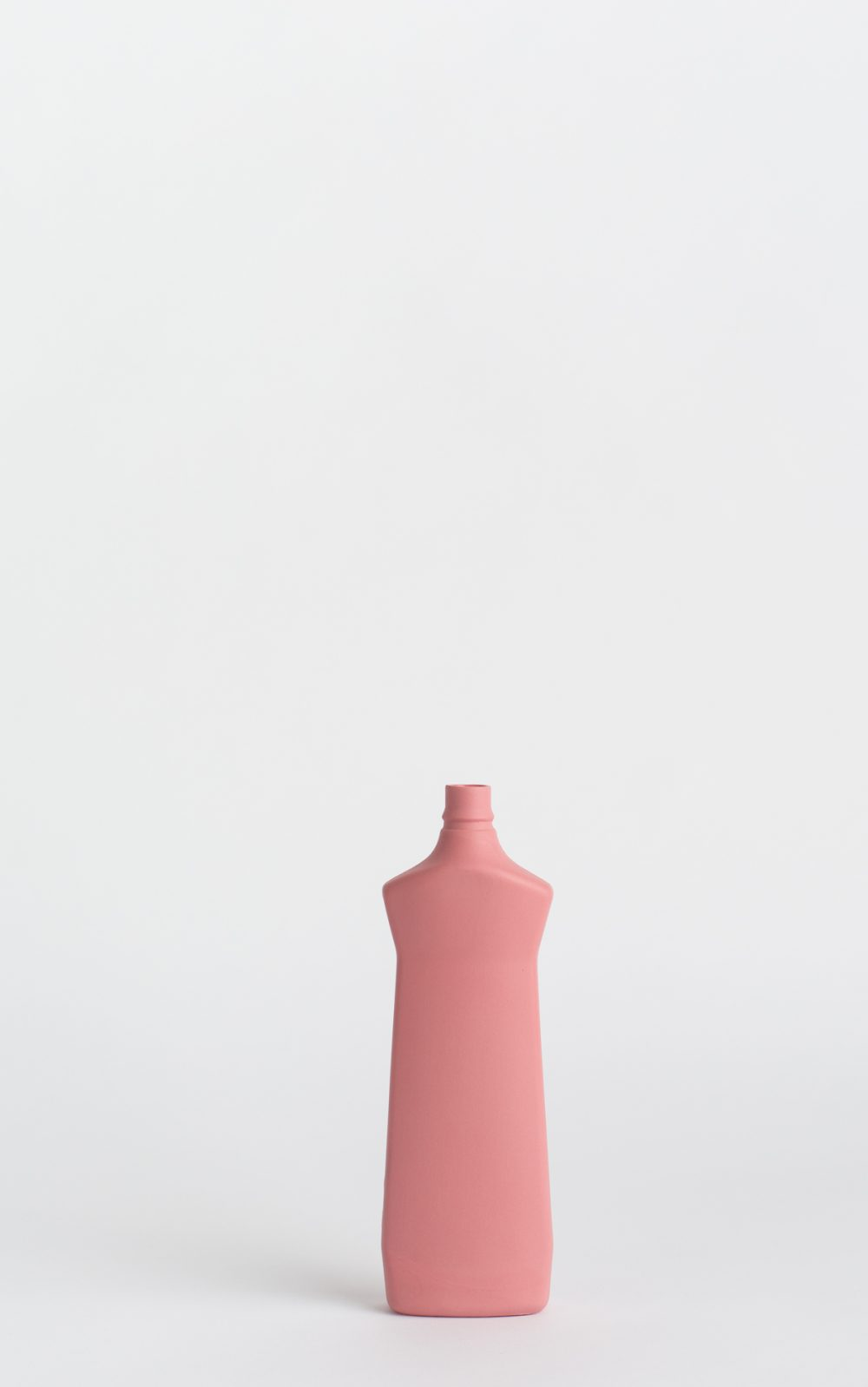 bottle vase #1 dark pink