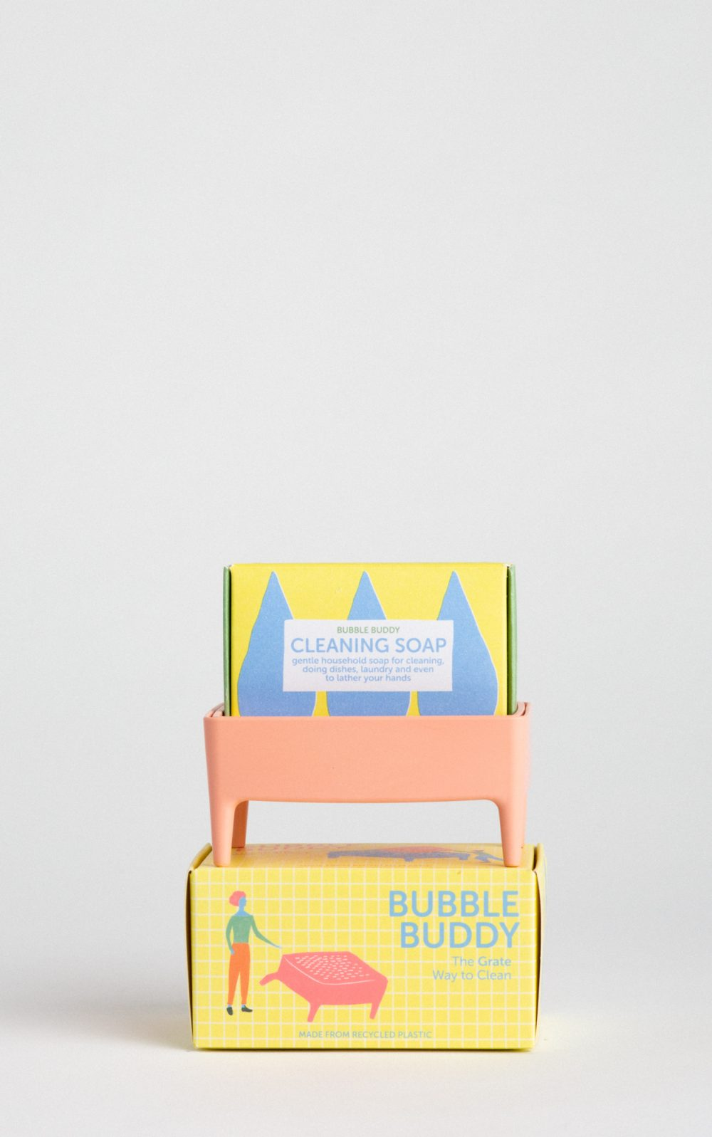 bubble buddy millennial pink inc cleaning soap