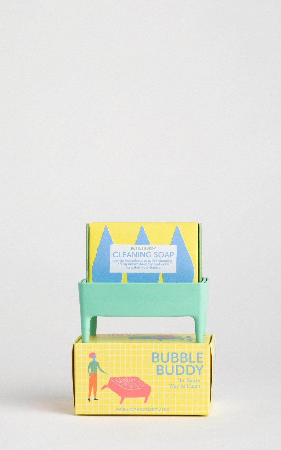 bubble buddy mint inc cleaning soap