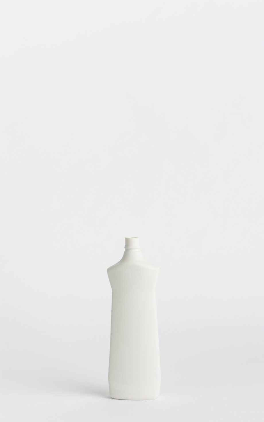 bottle vase #1 white