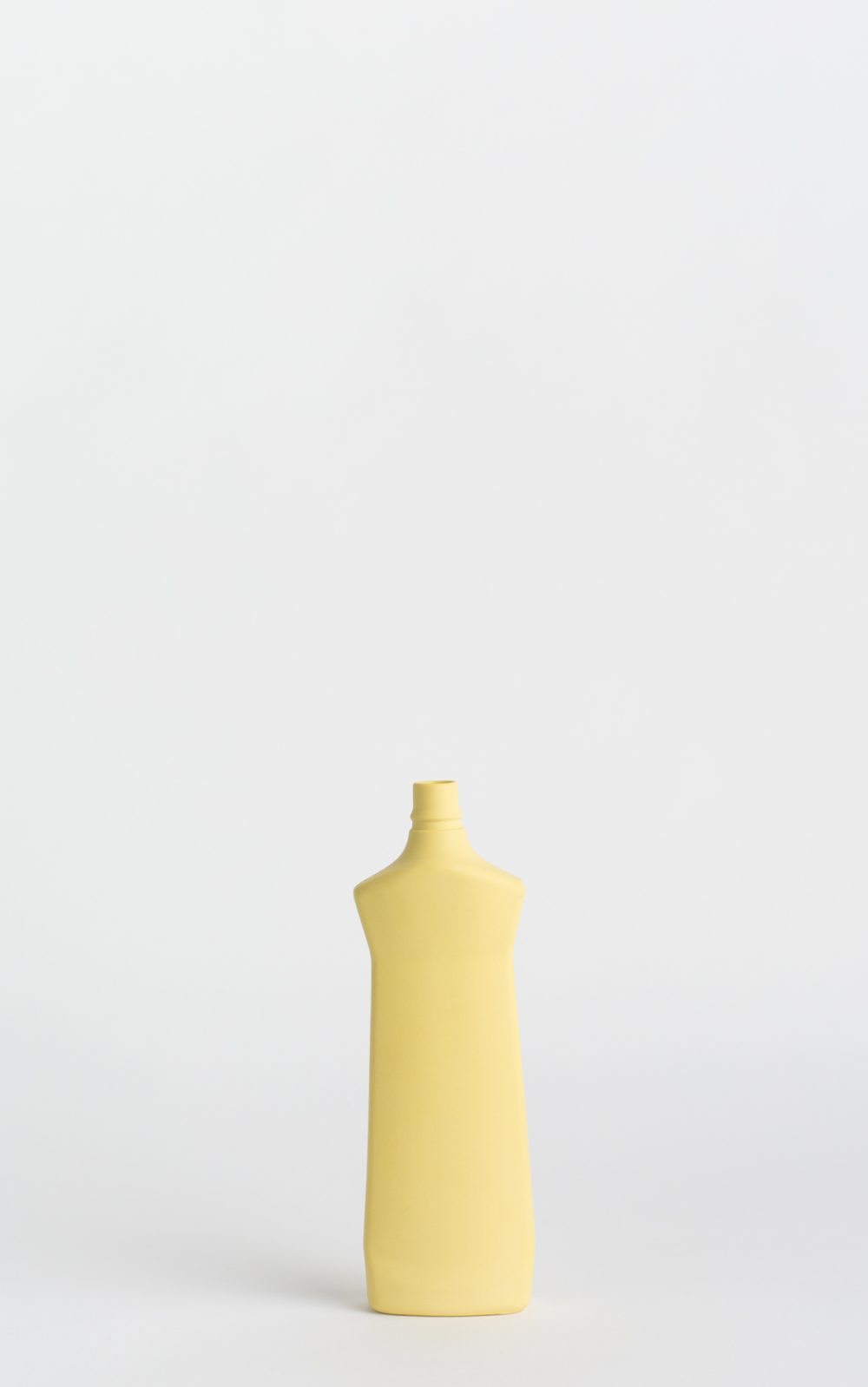 bottle vase #1 fresh yellow