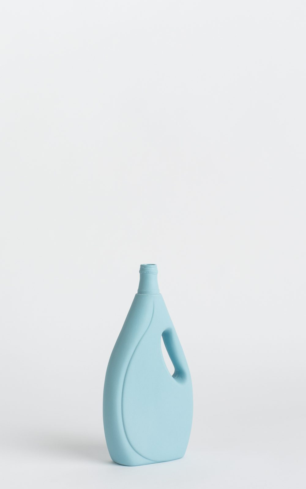bottle vase #7 light blue