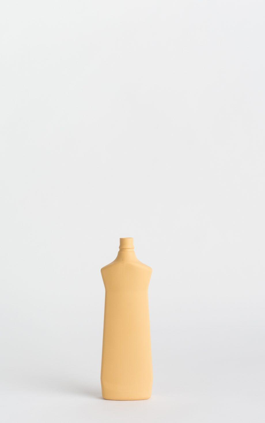 bottle vase #1 warm yellow