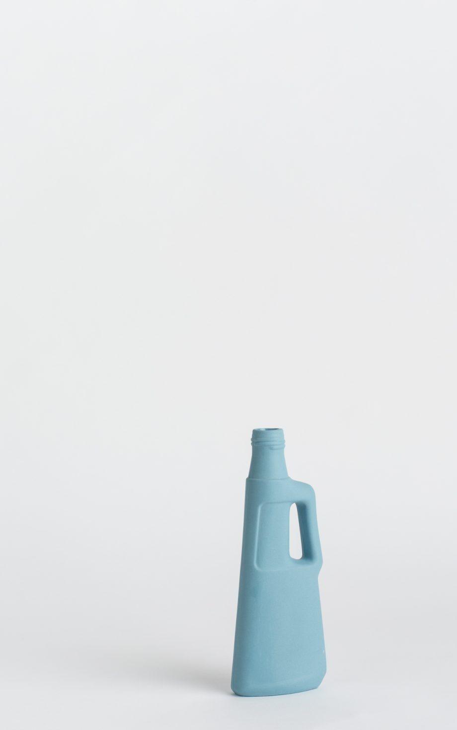bottle vase #9 light blue