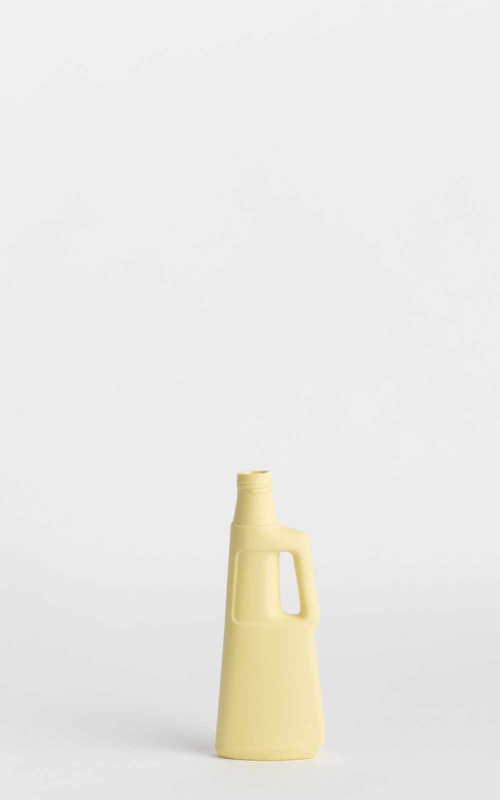 bottle vase #9 fresh yellow