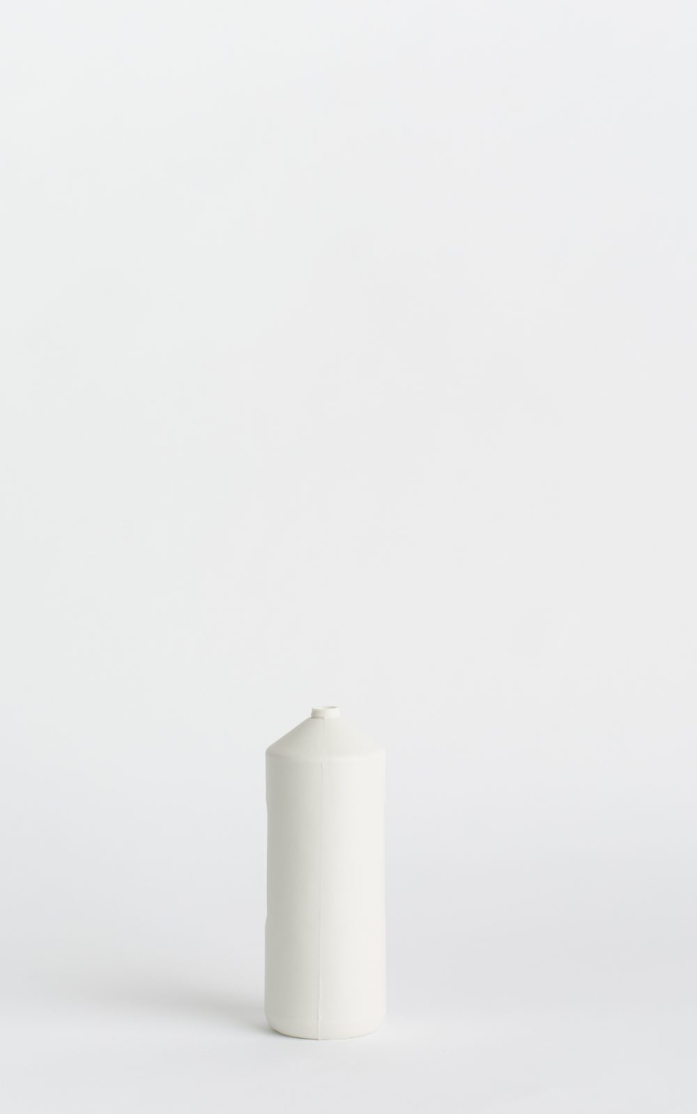bottle vase #2 white