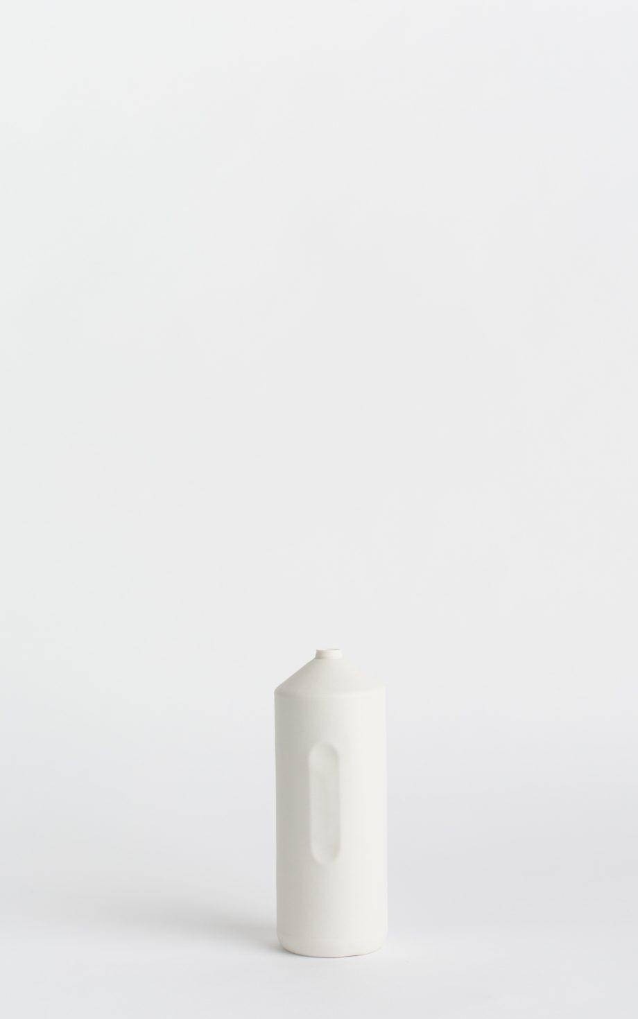 bottle vase #2 white