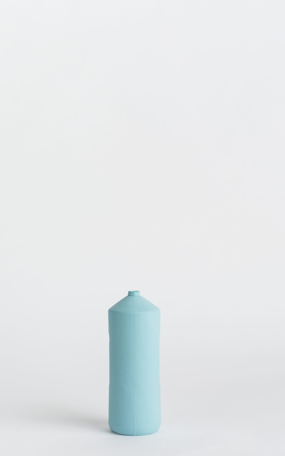 bottle vase #2 light blue