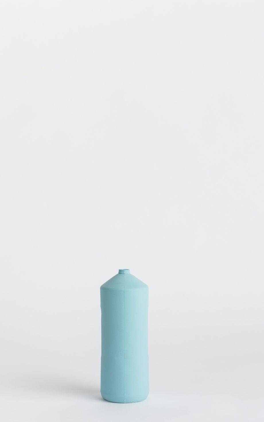 bottle vase #2 light blue