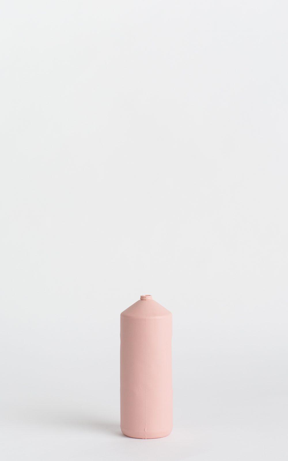 bottle vase #2 rose pink