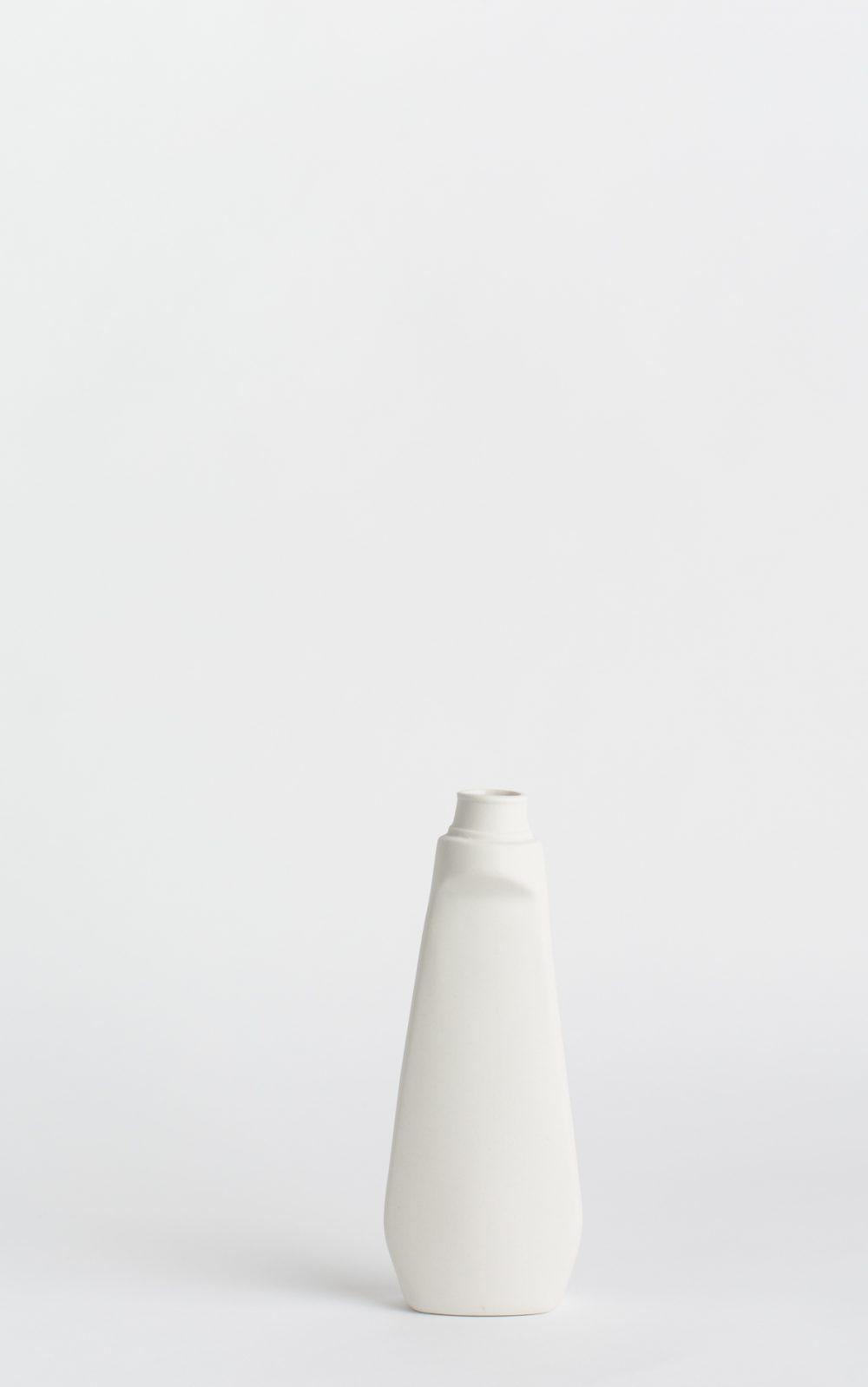 bottle vase #4 white
