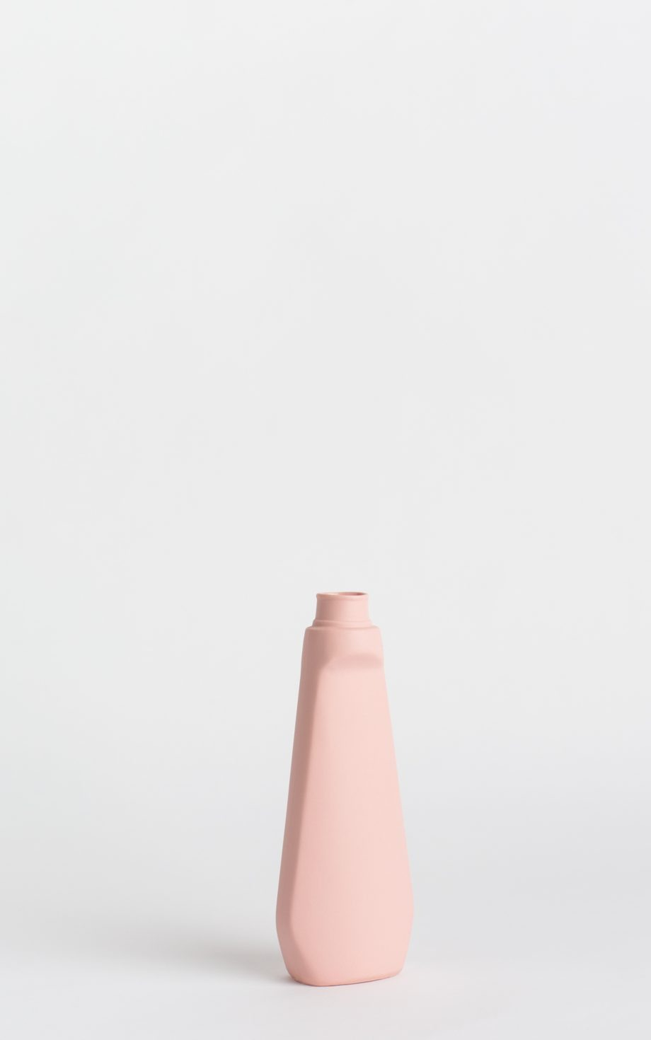 bottle vase #4 rose pink
