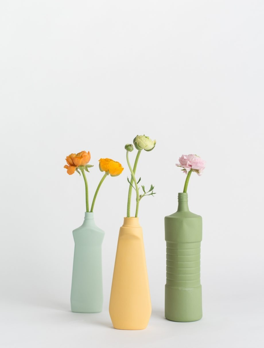 foekje fleur bottle vases medium set