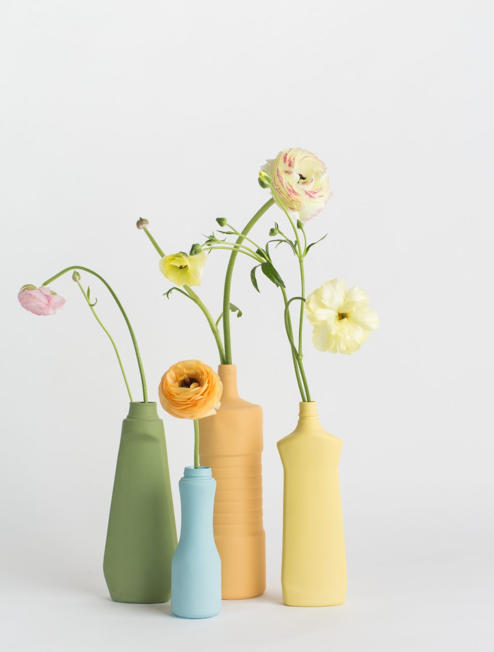 foekje fleur bottle vases set of 4