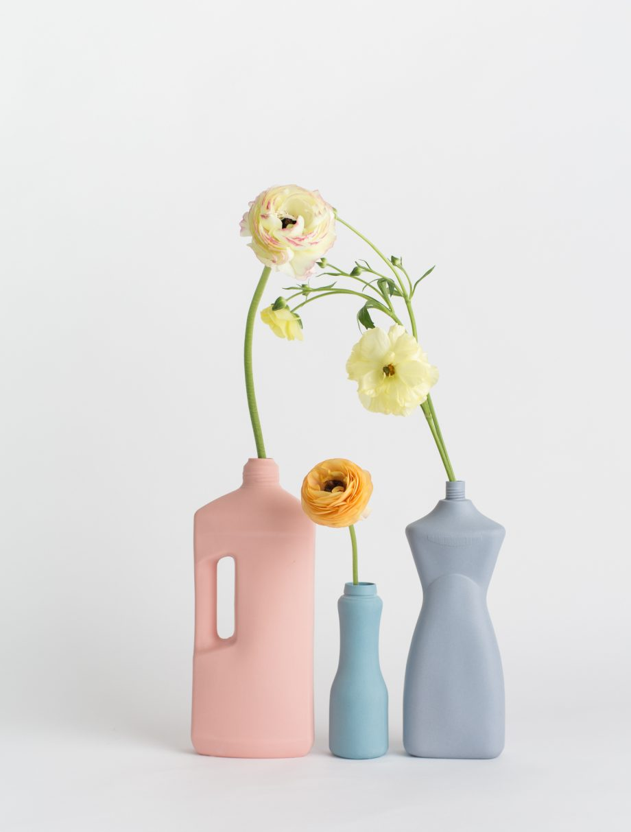 foekje fleur bottle vases set of 3