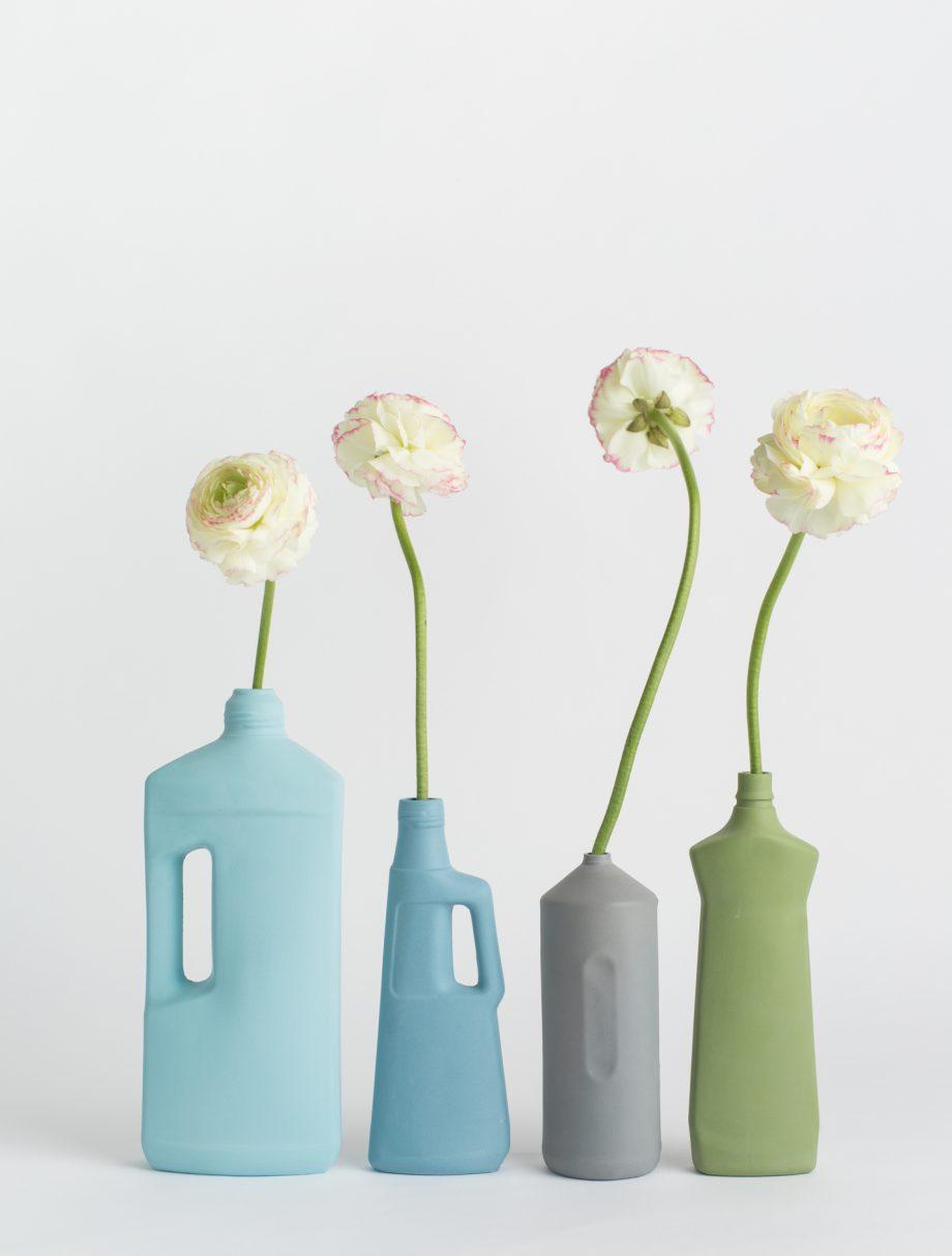 foekje fleur bottle vases cold pallet set