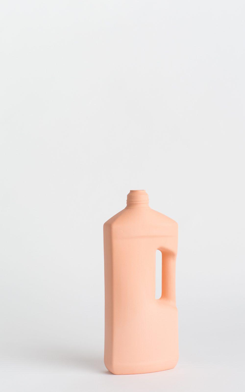 bottle vase #3 orange