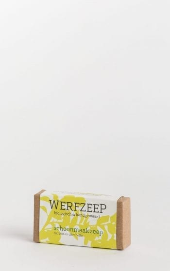 organic werfzeep cleaning bar