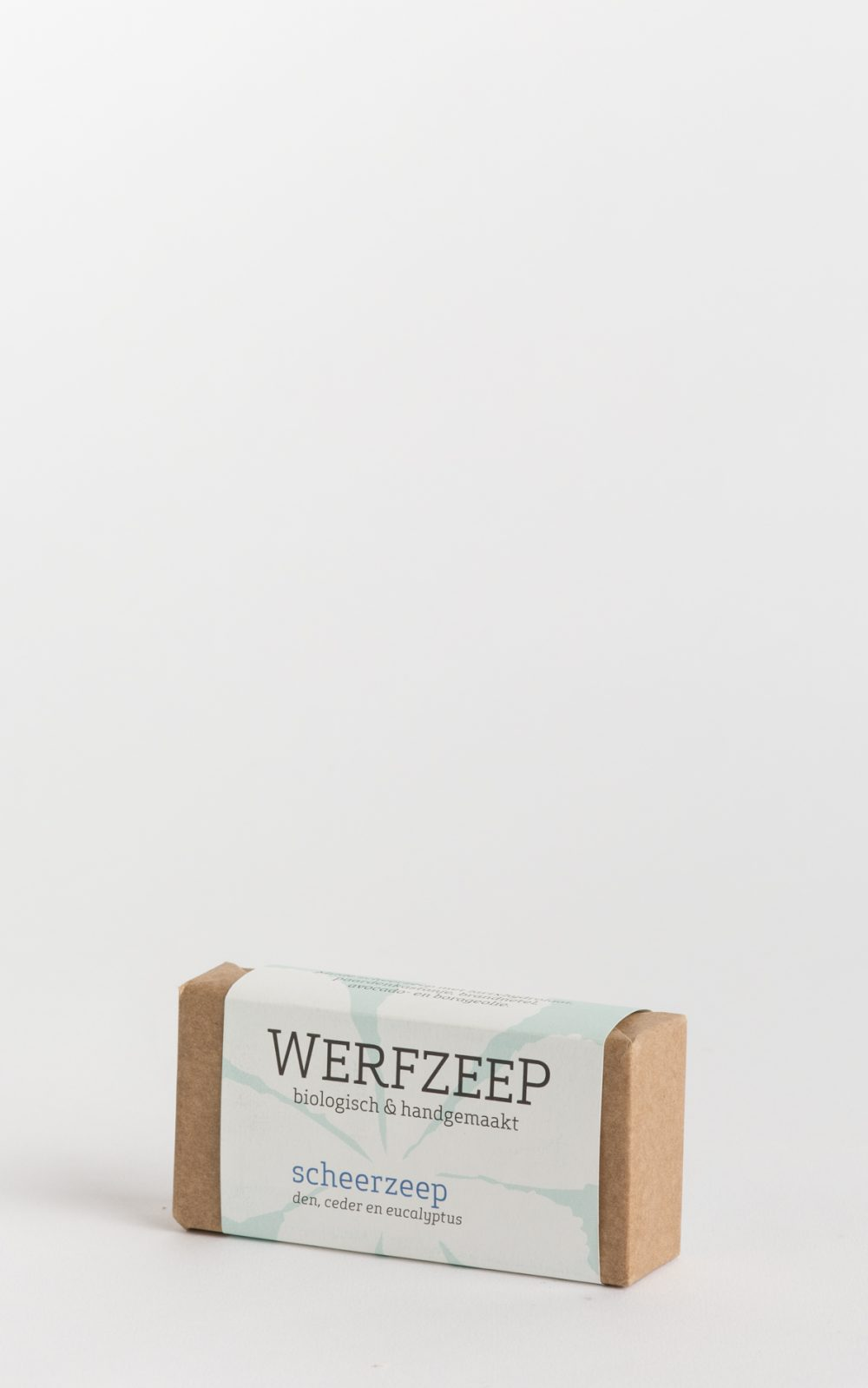 organic werfzeep shaving bar