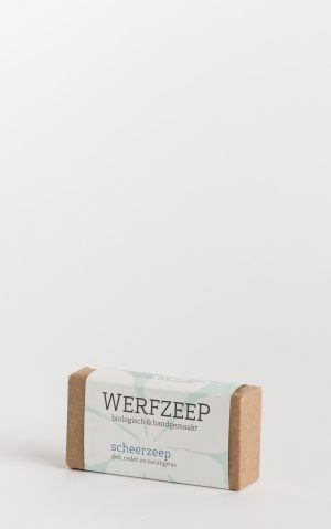 organic werfzeep shaving bar