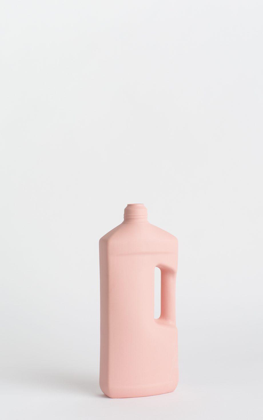 bottle vase #3 rose pink