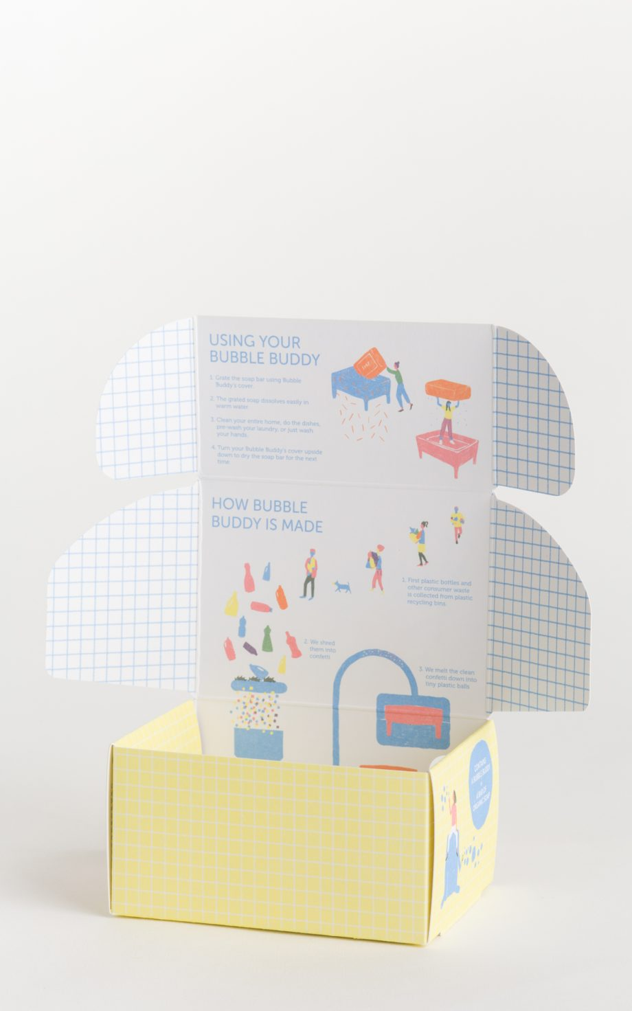 Bubble buddy packaging