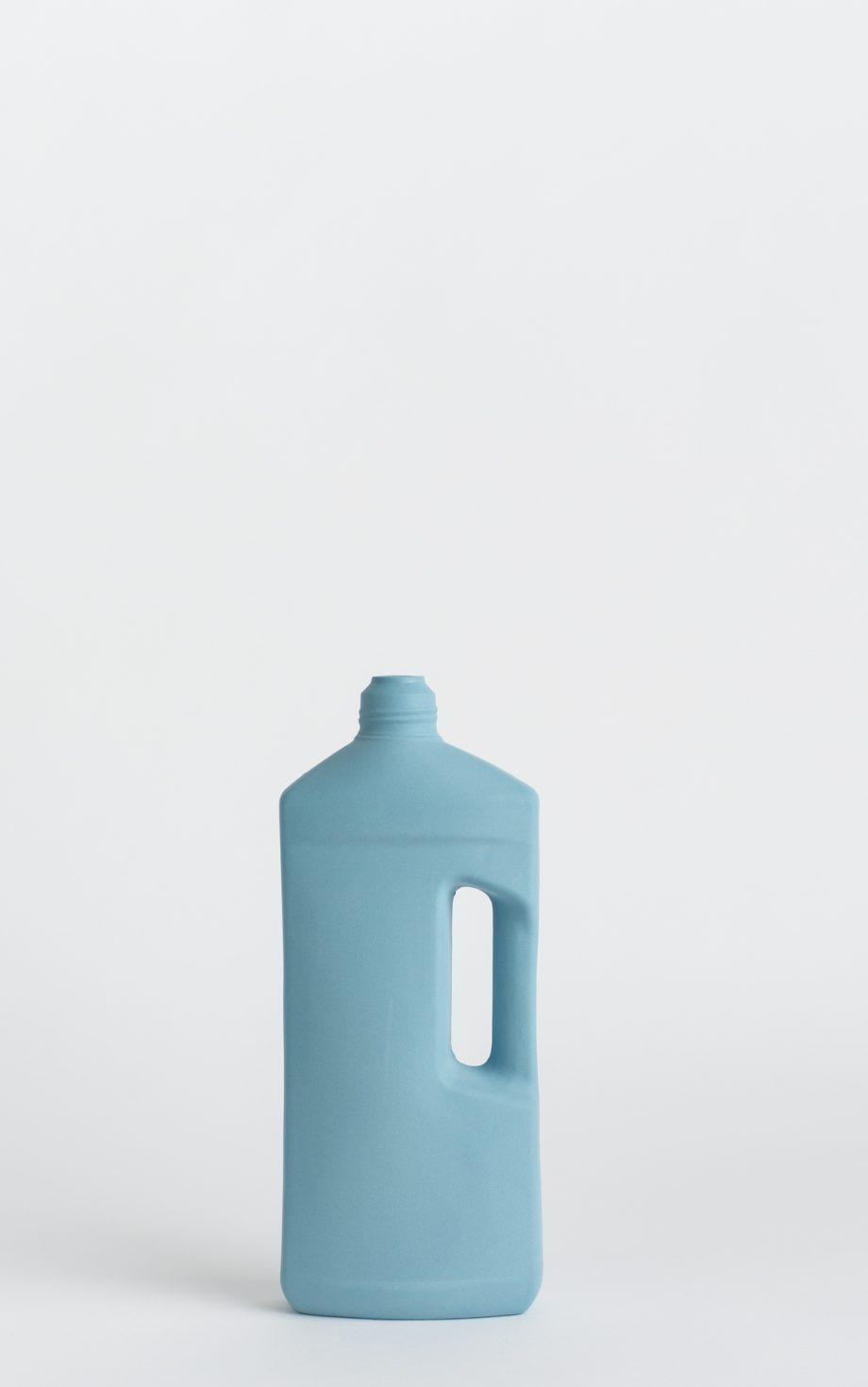 bottle vase #3 dark blue