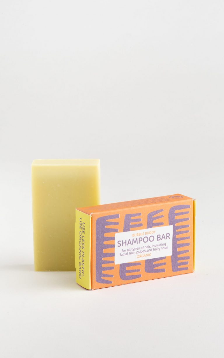 Organic shampoo soap bar also suitable for hand luggage