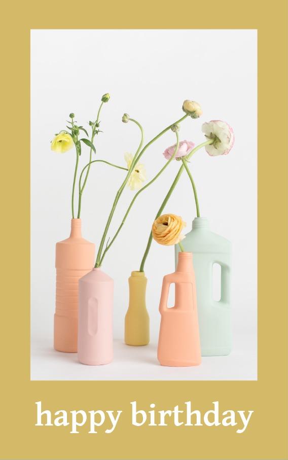 foekje fleur happy birthday card