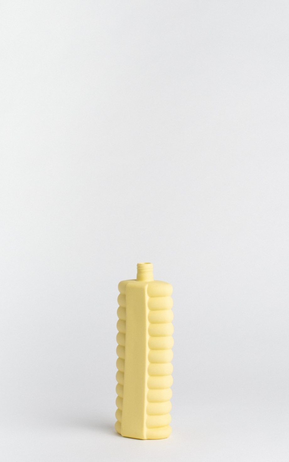 bottle vase #10 fresh yellow