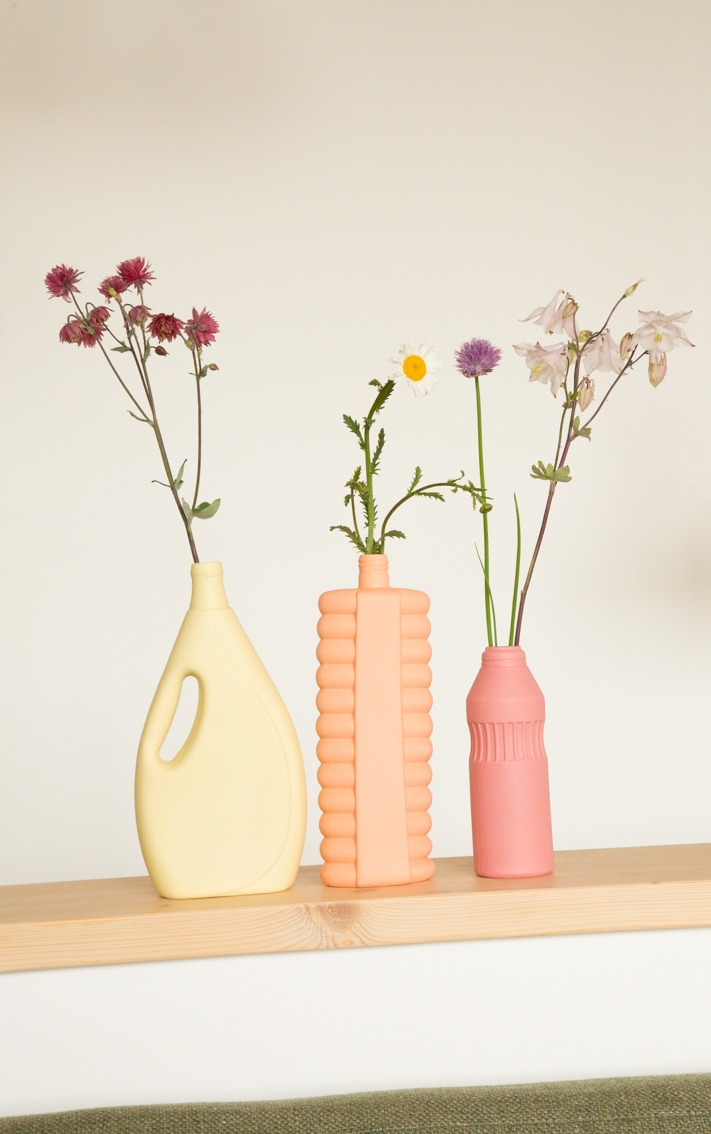 bottle vases group photo