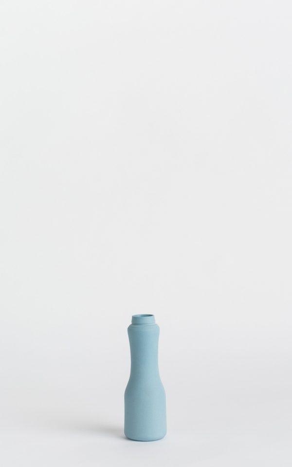 bottle vase #6 dark blue