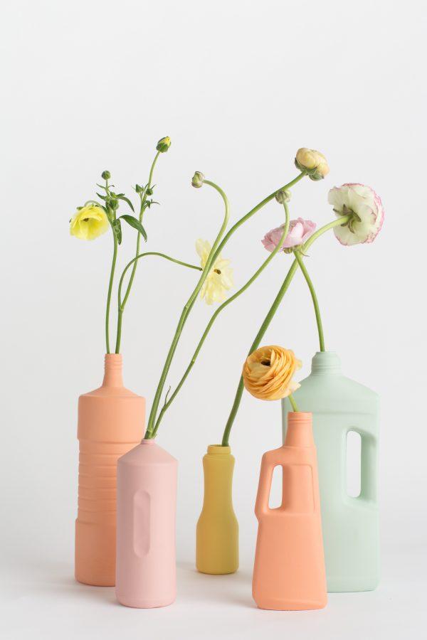 foekje fleur bottle vases set of 5