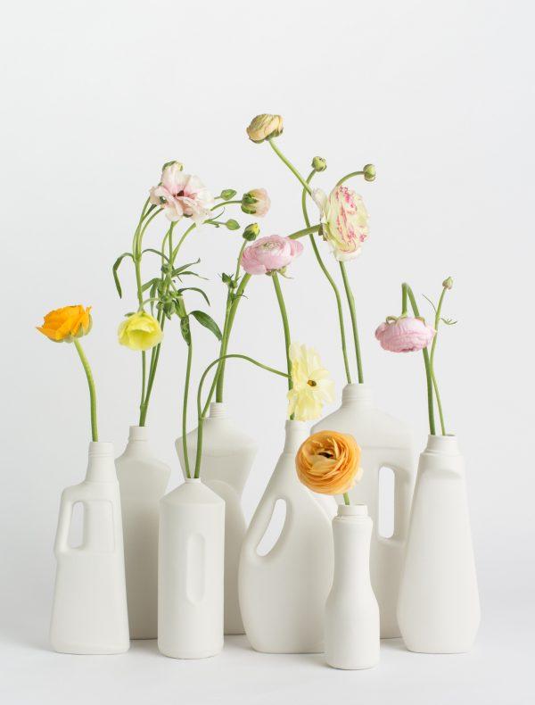 foekje fleur bottle vases set of 8