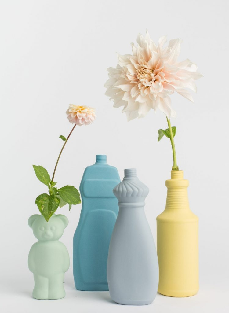 group photo porcelain vases