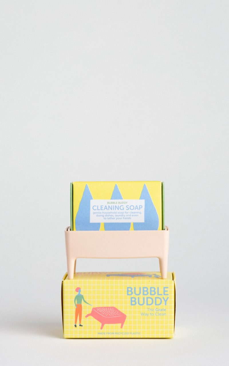 bubble buddy powder pink inc cleaning soap